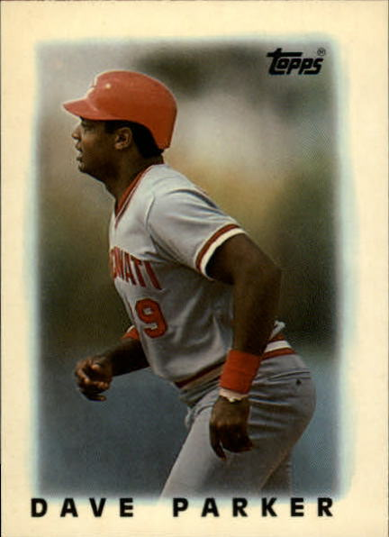 1986 Topps Mini Leaders #41 Dave Parker