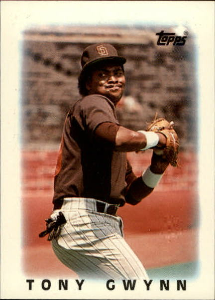 1986 Topps Mini Leaders #65 Tony Gwynn