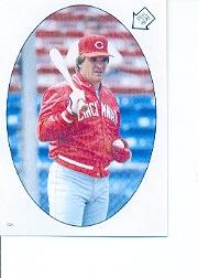 1986 Topps Stickers #134 Pete Rose