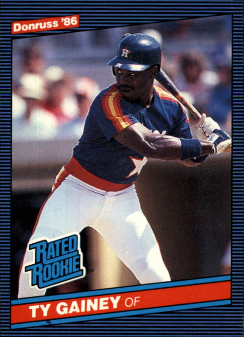 1986 Donruss #31 Ty Gainey RC