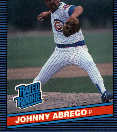 1986 Donruss #32 Johnny Abrego RC