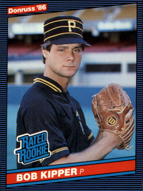 1986 Donruss #44 Bob Kipper RC