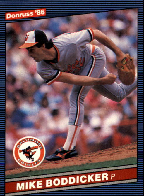 1986 Donruss #47 Mike Boddicker