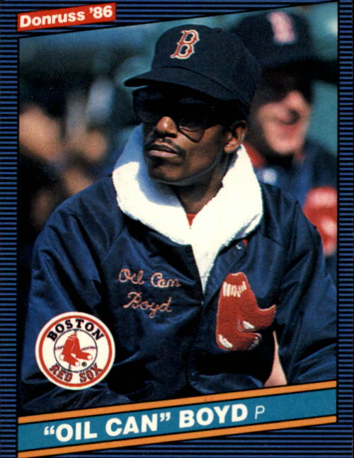 1986 Donruss #50 Oil Can Boyd