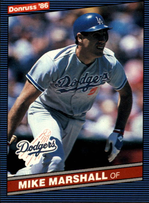 1986 Donruss #52 Mike Marshall