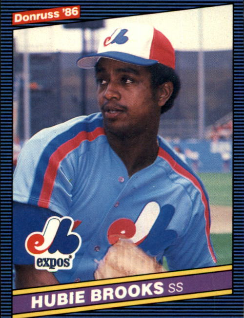 1986 Donruss #55 Hubie Brooks