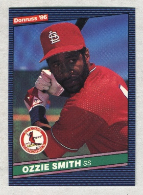 1986 Donruss #59 Ozzie Smith