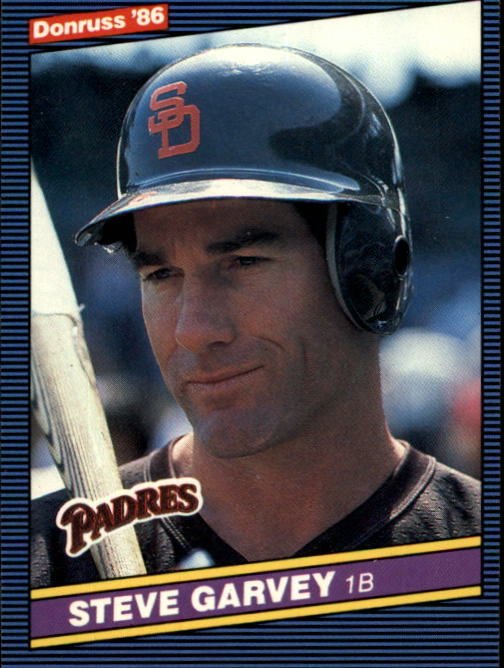 1986 Donruss #63 Steve Garvey