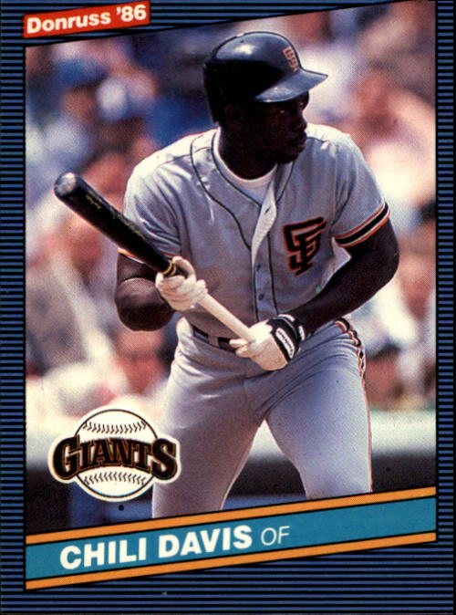 1986 Donruss #65 Chili Davis