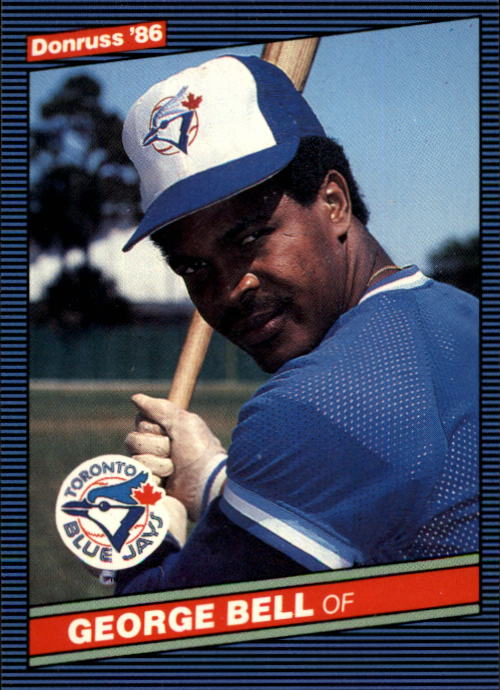 1986 Donruss #71 George Bell