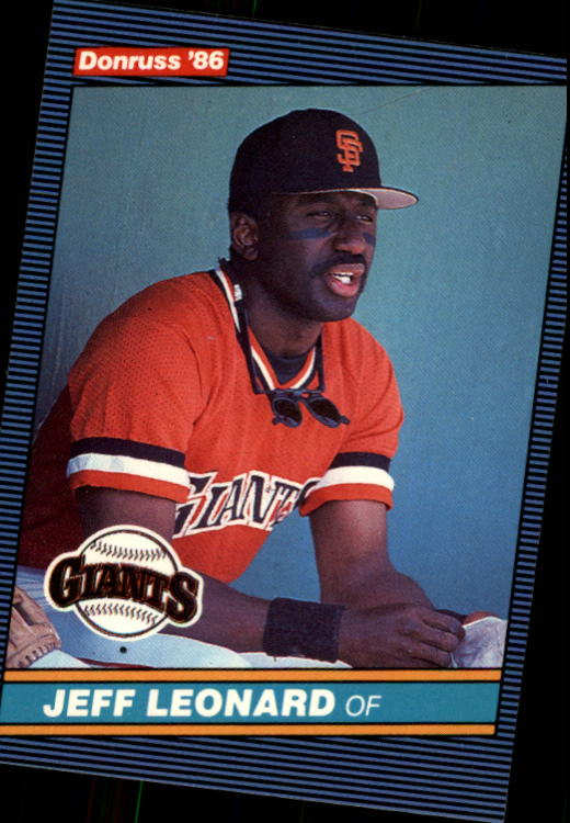 1986 Donruss #79 Jeff Leonard