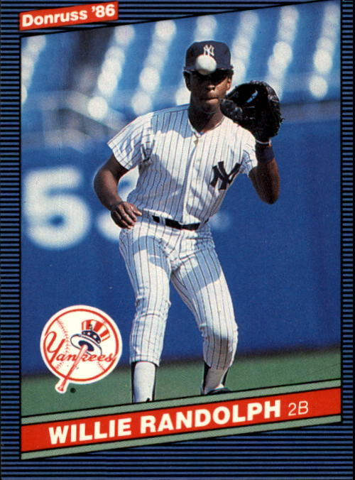 1986 Donruss #92 Willie Randolph