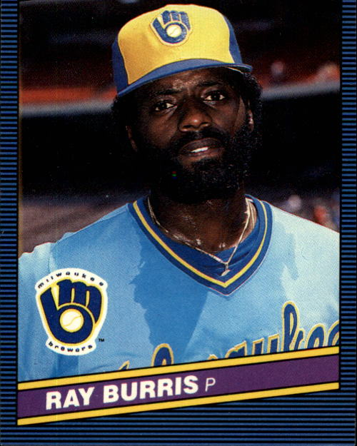 1986 Donruss #107 Ray Burris