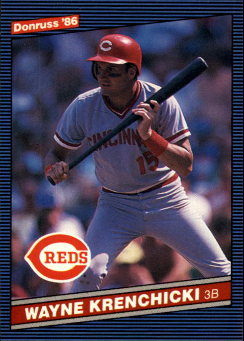 1986 Donruss #140 Wayne Krenchicki
