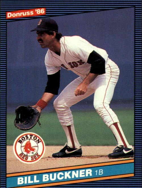 1986 Donruss #151 Bill Buckner