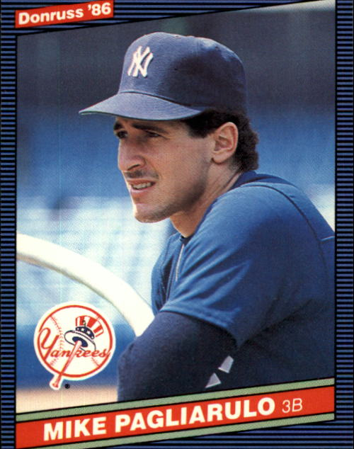 1986 Donruss #152 Mike Pagliarulo