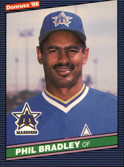 1986 Donruss #191 Phil Bradley