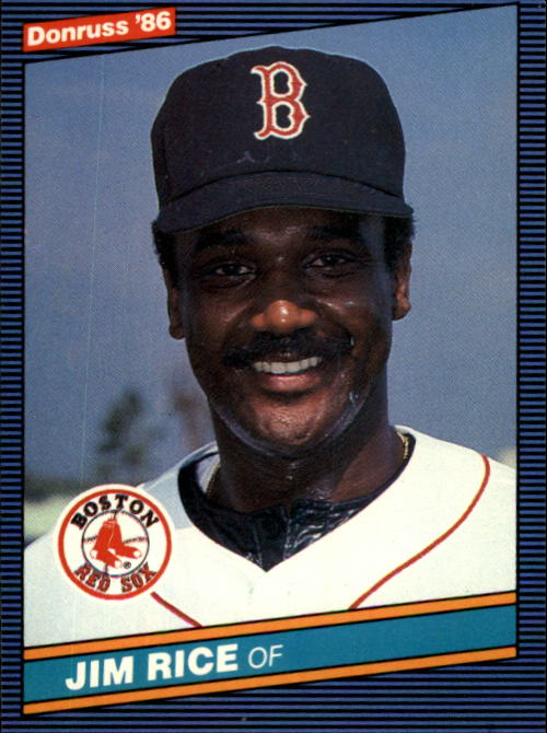 1986 Donruss #213 Jim Rice