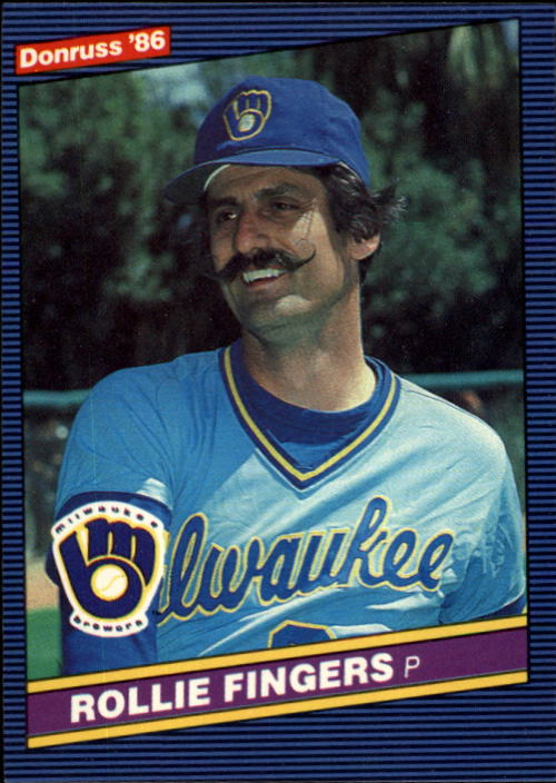 1986 Donruss #229 Rollie Fingers