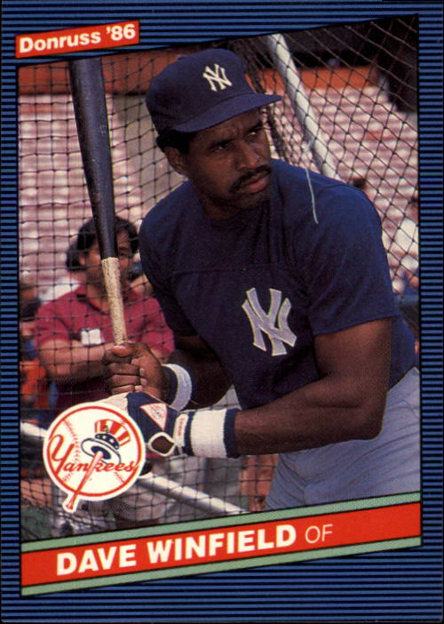 1986 Donruss #248 Dave Winfield