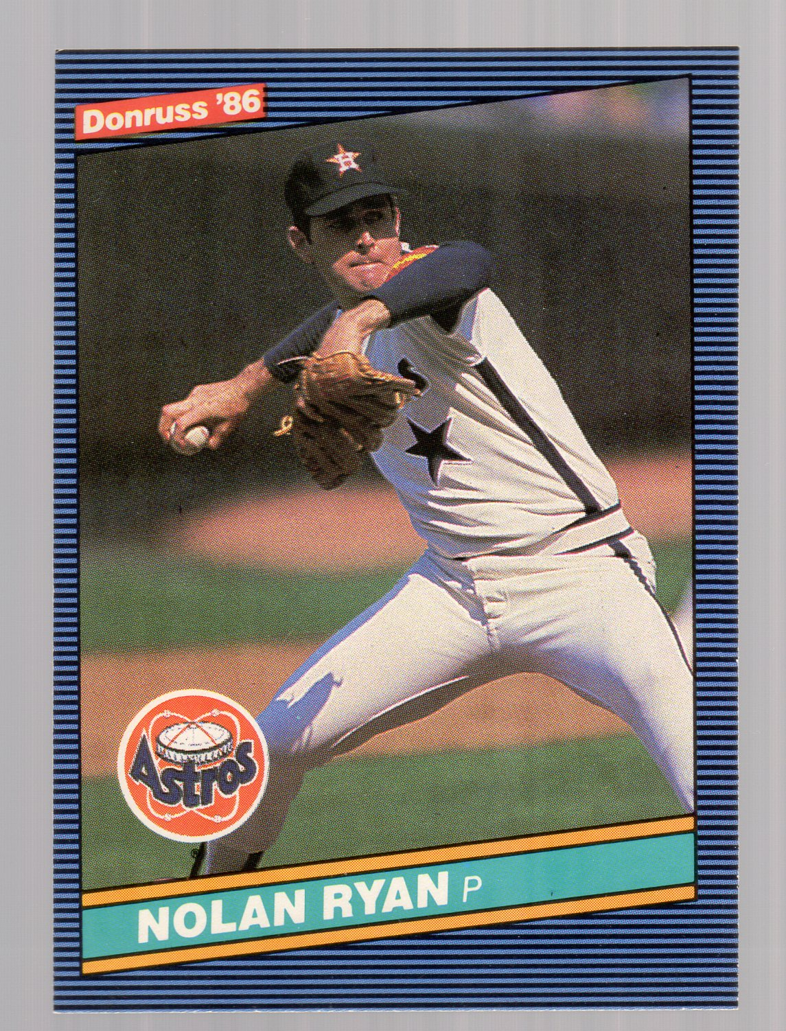 1986 Donruss #258 Nolan Ryan