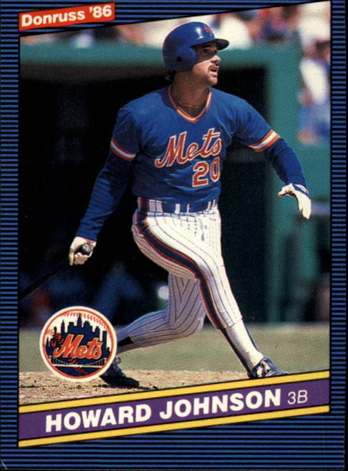 1986 Donruss #312 Howard Johnson