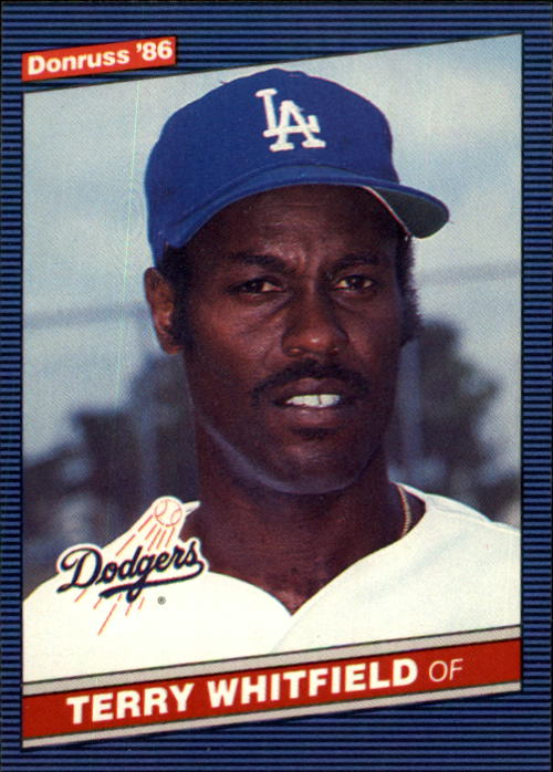 1986 Donruss #337 Terry Whitfield