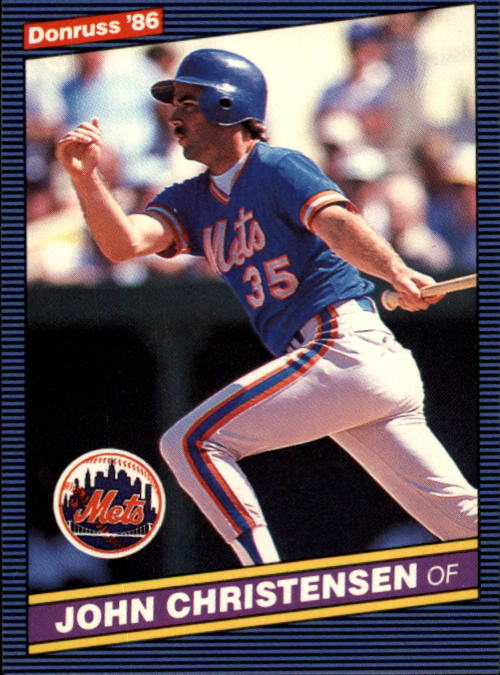 1986 Donruss #360 John Christensen