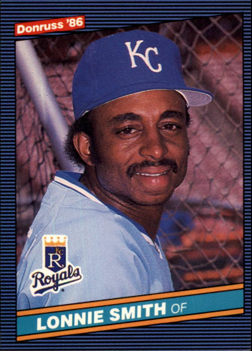 1986 Donruss #399 Lonnie Smith