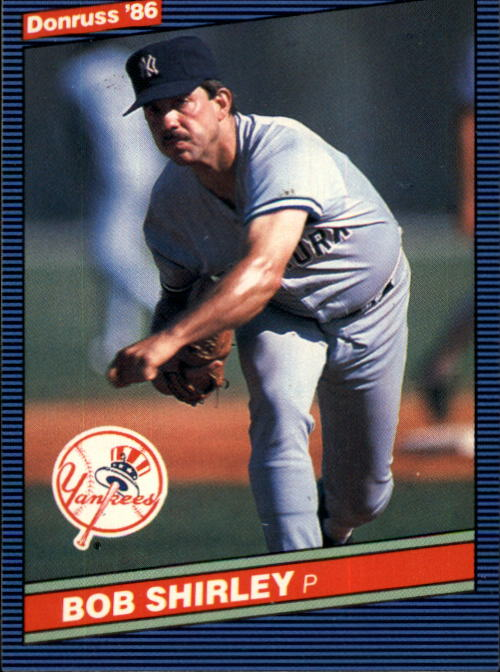1986 Donruss #458 Bob Shirley