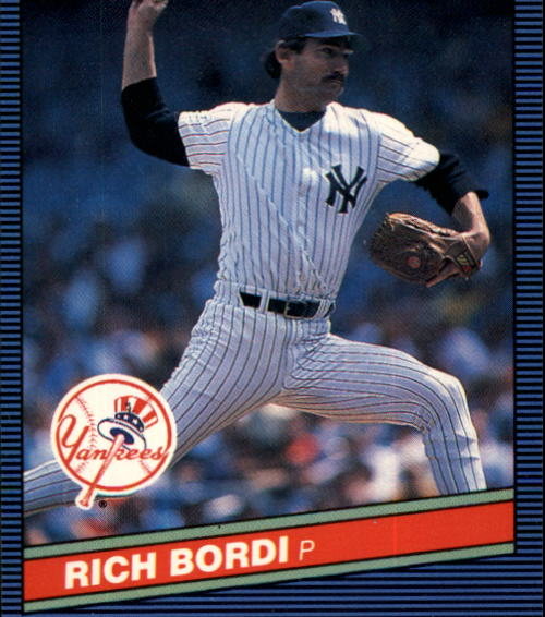 1986 Donruss #518 Rich Bordi