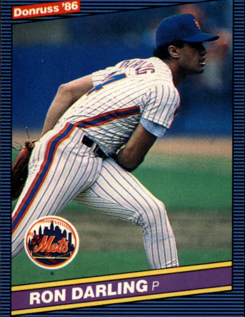 1986 Donruss #563 Ron Darling