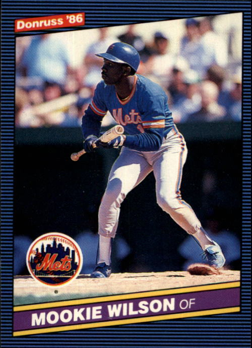 1986 Donruss #604 Mookie Wilson