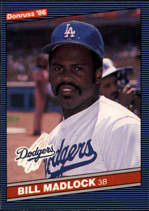 1986 Donruss #617 Bill Madlock