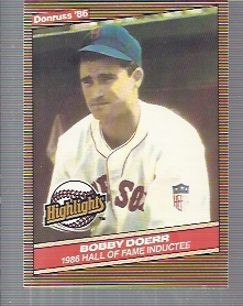 1986 Donruss Highlights #32 Bobby Doerr