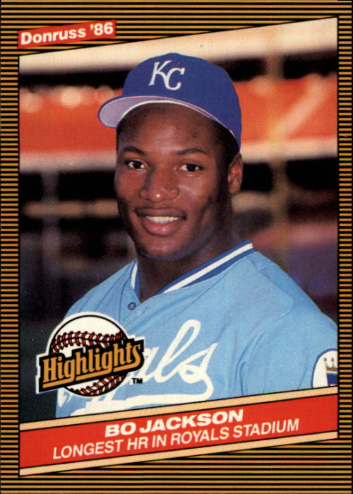 1986 Donruss Highlights #43 Bo Jackson