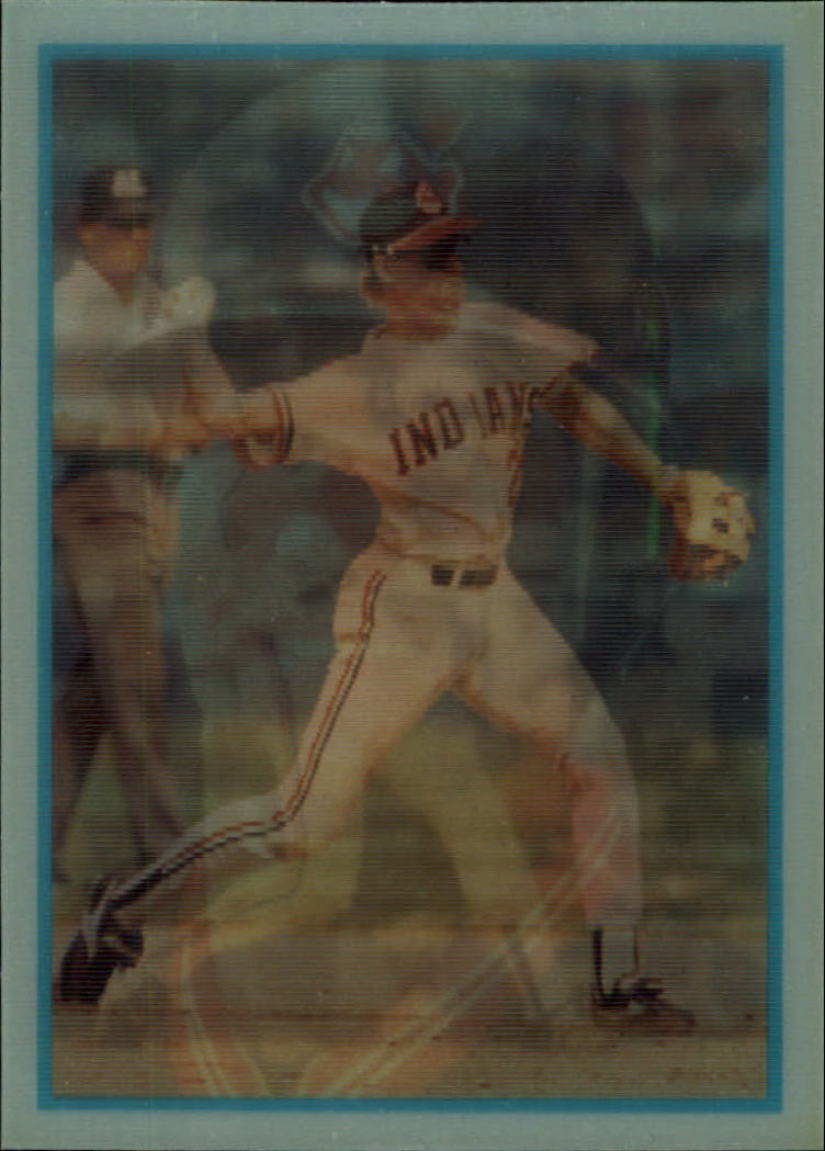 1986 Sportflics Rookies #18 Cory Snyder
