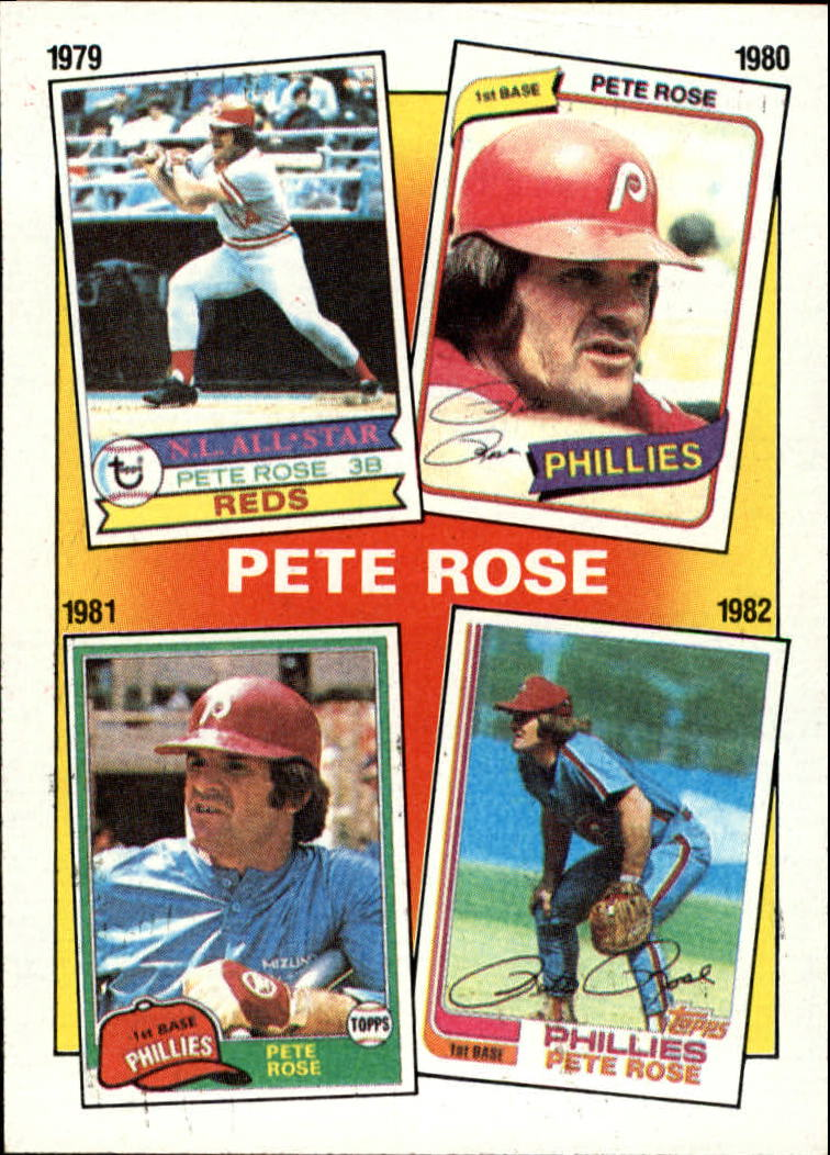 1986 Topps #6 Rose Special: '79-'82