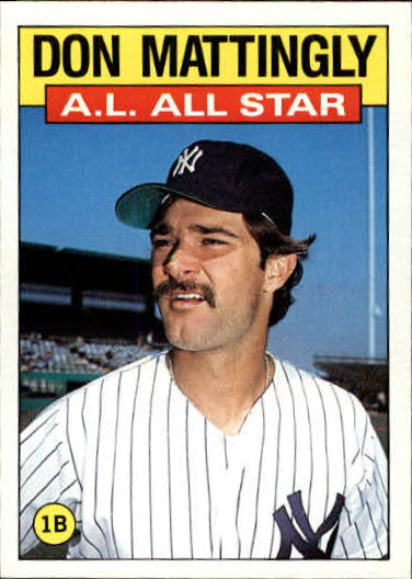 1986 Topps #712 Don Mattingly AS