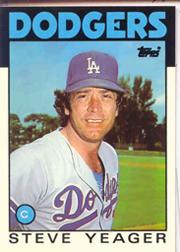 1986 Topps Tiffany #32 Steve Yeager