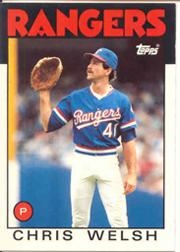 1986 Topps Tiffany #52 Chris Welsh