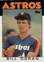 1986 Topps Tiffany #57 Bill Doran/(See also 51)