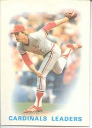 1986 Topps Tiffany #66 Cardinals Leaders/Bob Forsch