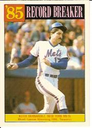 1986 Topps Tiffany #203 Keith Hernandez RB/Most game-winning/RBI's