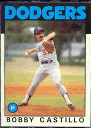 1986 Topps Tiffany #252 Bobby Castillo
