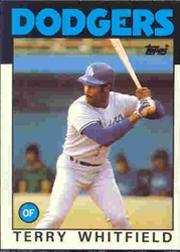 1986 Topps Tiffany #318 Terry Whitfield