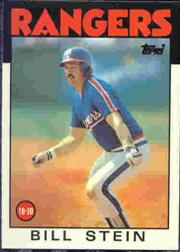 1986 Topps Tiffany #371 Bill Stein