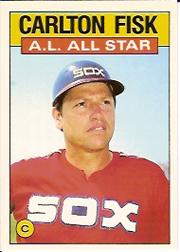 1986 Topps Tiffany #719 Carlton Fisk AS