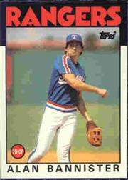 1986 Topps Tiffany #784 Alan Bannister