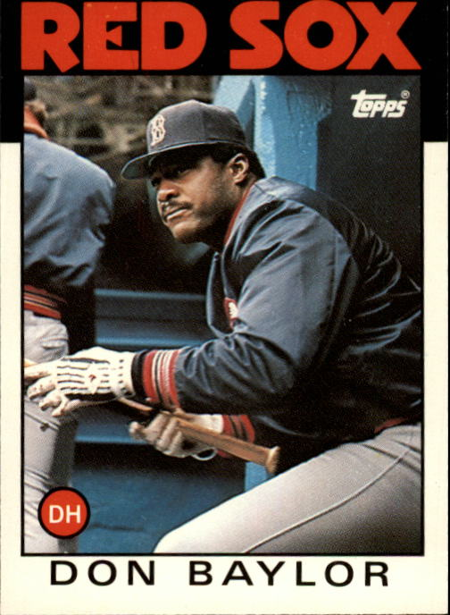 1986 Topps Traded #6T Don Baylor